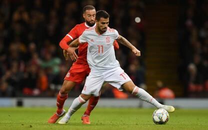 Suso, assist man nella Spagna come nel Milan
