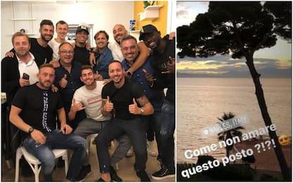 """Jorginho torna a Napoli: """"Mi siete mancati"""""""