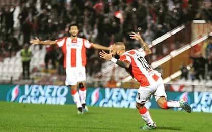 Serie C, il Vicenza travolge il Monza: i risultati