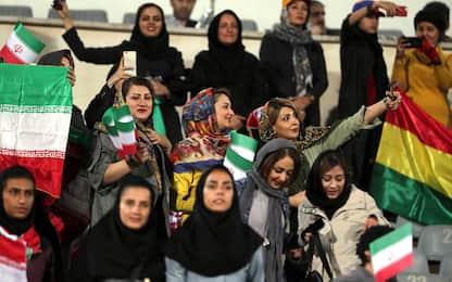 Iran, donne allo stadio dopo 40 anni