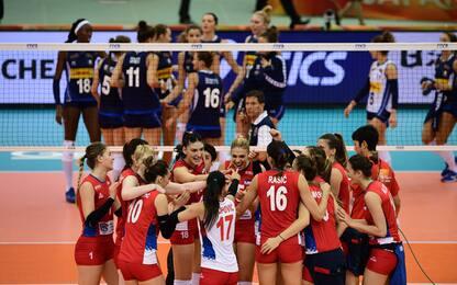 Mondiali volley, Italia ko 3-2. Serbia campione