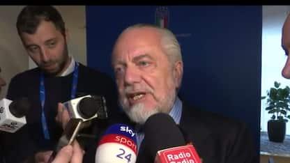 """De Laurentiis: """"In estate 2-3 colpi importanti"""""""