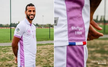 Reims, omaggio al Real: ecco la maglia celebrativa