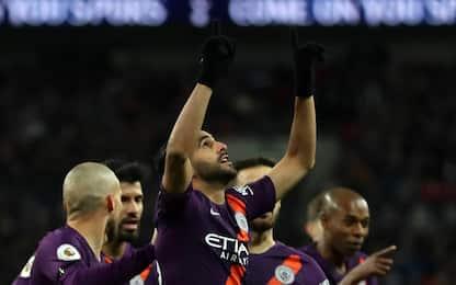 Mahrez, gol agli Spurs e dedica a Vichai: IL VIDEO