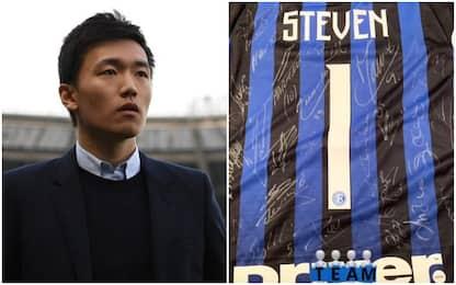 """Zhang: """"Cuore e personalità, avanti così Inter"""""""
