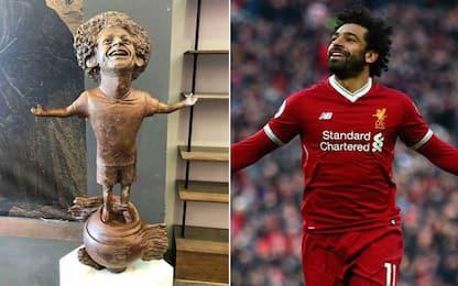 Salah eroe d'Egitto: una statua per lui