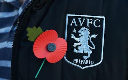 """Aston Villa, tassista licenziato: no ai """"Poppies"""""""