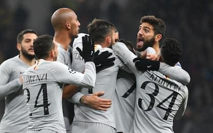 La Roma stende il Cska 2-1: ottavi a un passo