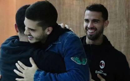 Sorpresa André Silva: visita al Milan a Siviglia