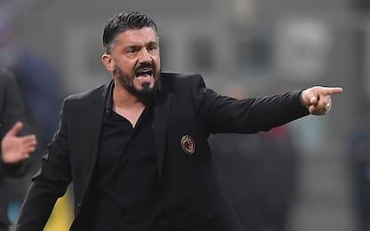 """Gattuso: """"Pipita non va massacrato, ma stia calmo"""""""