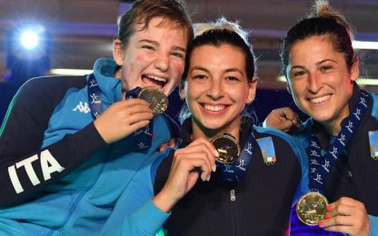 Bebe, che rimonta: Italia vince Mondiale a squadre
