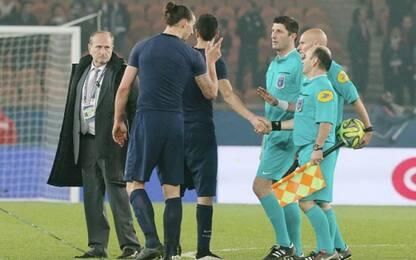 """L'arbitro Chapron: """"Io, l'unico a dire no a Ibra"""""""