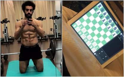 Il segreto di Salah: palestra e partite a scacchi