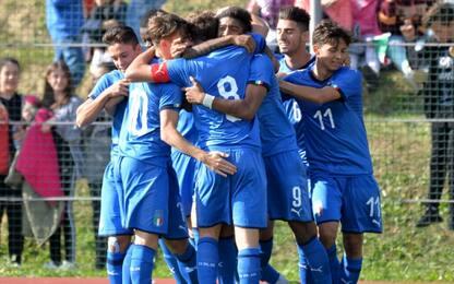 Italia U18, 3-3 con la Rep. Ceca. Under 19 ko