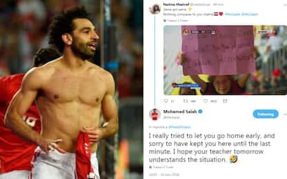 """Salah, fai gol che devo studiare!"". E lui..."