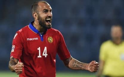 Chi è Movsisyan, top scorer della Nations League