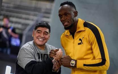 Bolt corre da Maradona? L'ultima idea dal Messico