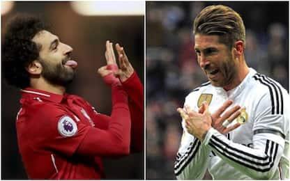 Salah Esulta come Sergio Ramos, una provocazione?