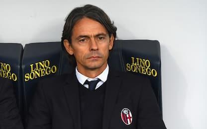Bologna, fiducia a Inzaghi: squadra in ritiro