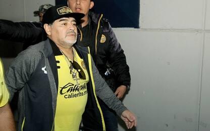 """Maradona, poche ore in ospedale. """"Sta bene"""""""