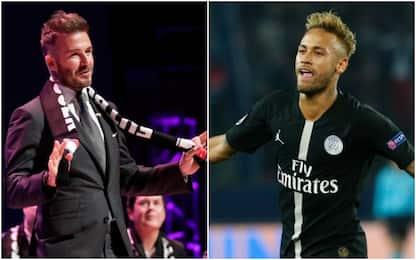 Dagli USA: Beckham vuole Neymar per il suo Miami