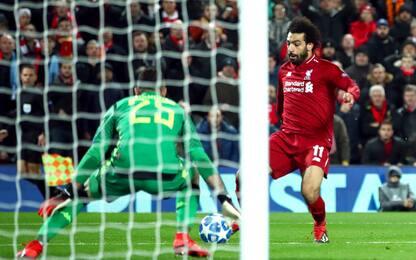 Napoli eliminato: decide Salah, 1-0 Liverpool