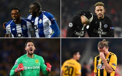 Dal super Porto al PSG: i numeri della prima fase