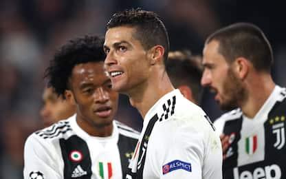 Ronaldo segna a ogni minuto. Ma in Champions…