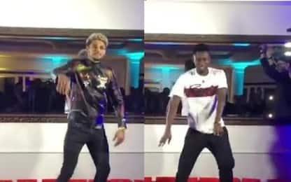 Malcuit e Diawara, balletto alla Michael Jackson
