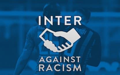 """Inter: """"Chi discrimina non è uno di noi"""""""