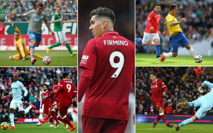 Firmino e l'arte del no-look: quante magie. VIDEO