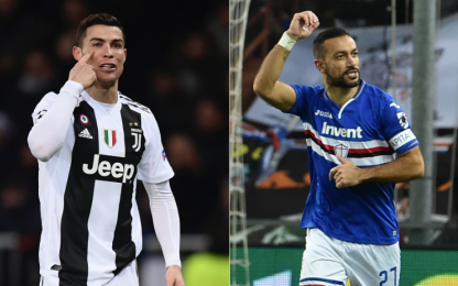 Juventus-Sampdoria, le probabili formazioni