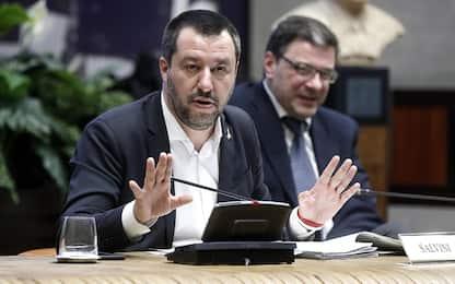 """Tifo violento, Salvini: """"Sradicheremo i teppisti"""""""