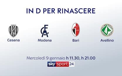 """Lo speciale di Sky: """"In Serie D per rinascere"""""""