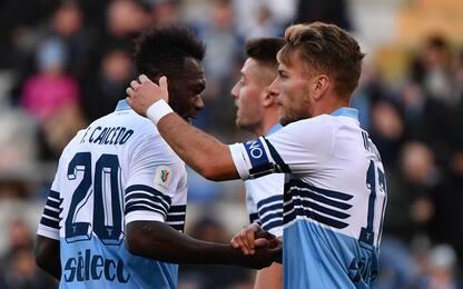 Coppa Italia, Lazio ai quarti: 4-1 al Novara