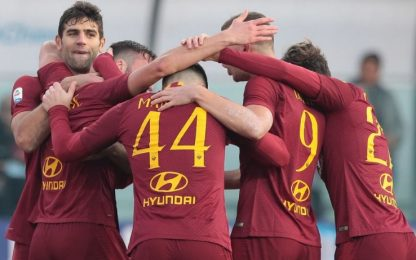 Roma-Entella, le quote degli ottavi di Coppa Italia