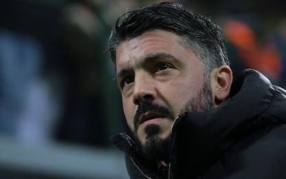 """Gattuso: """"Samp non è vacanza. Higuain spero resti"""""""