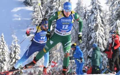 Sprint Oberhof: Hofer sesto, vince Boe