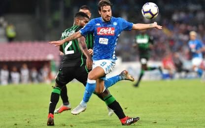 Napoli-Sassuolo, le quote degli ottavi di Coppa Italia