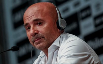 """Gaffe Sampaoli: """"Noi come il Santos di Ronaldinho"""""""