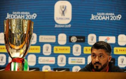 """Gattuso: """"Higuain via? A me mai detto. O è attore"""""""