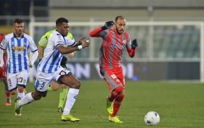 Frena il Pescara: 0-0 con la Cremonese