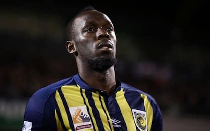 """Bolt, addio al calcio: """"Bello finché è durato"""""""