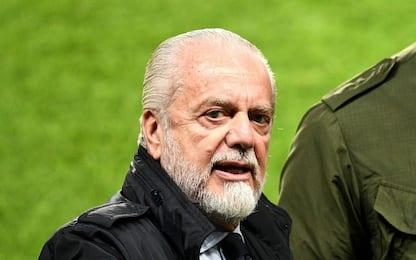 """De Laurentiis: """"Vittoria dedicata a Sandulli"""""""