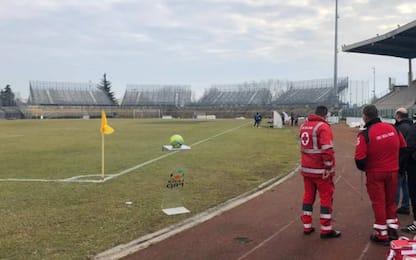 Pro Piacenza-Alessandria rinviata: i motivi