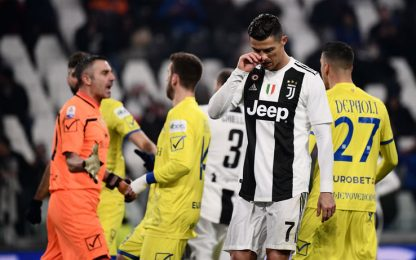 CR7, 25 rigori sbagliati: proprio come Messi