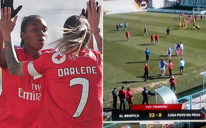 Benfica donne, numeri da record: 293 gol segnati!