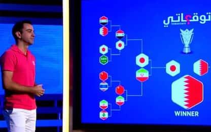 Finale Giappone-Qatar? Xavi aveva previsto tutto!