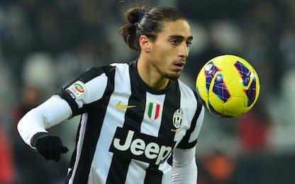 Juventus, Caceres il favorito per il dopo Benatia