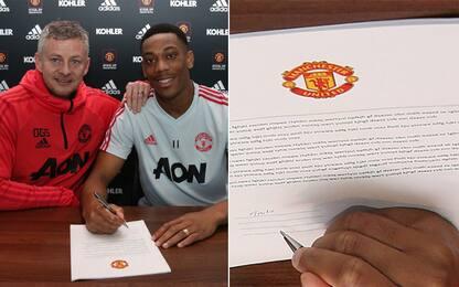 Martial firma il rinnovo, ma il contratto è falso!